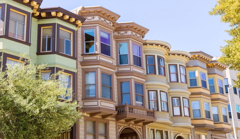 San francisco architecture victorian to edwardian to post for Modern homes san francisco