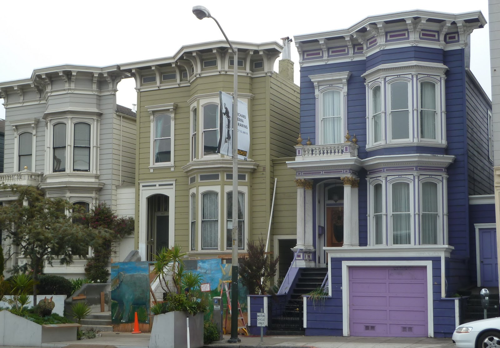 San francisco architecture victorian to edwardian to post Modern victorian architecture