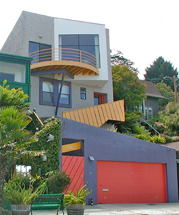Postmodern Architecture Homes san francisco architecture: victorian to edwardian to post-modern